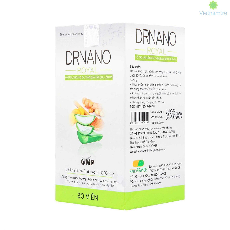 Dr Nano Royal ra đời mang theo sứ mệnh về cải thiện làn da mịn màng hoàn hảo