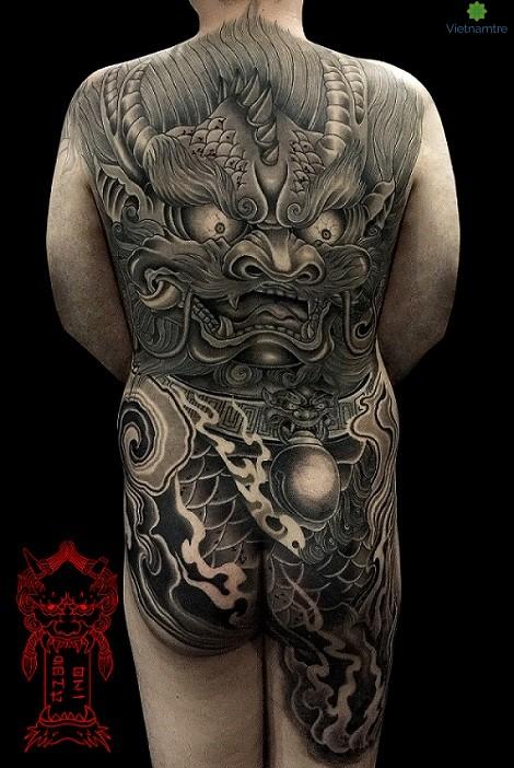 Japanese Style của Tattooist Dong Oni