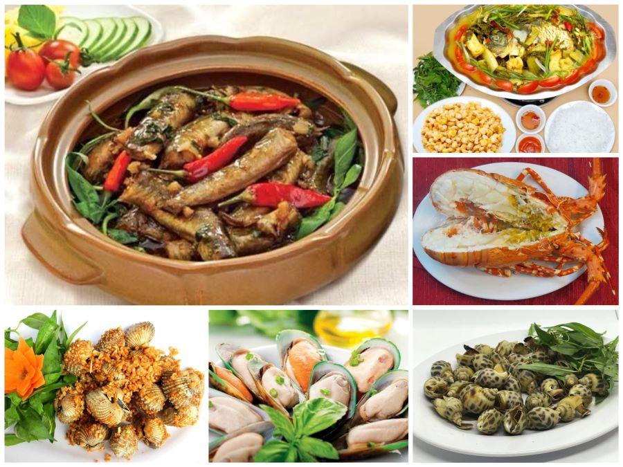 Các món ăn được đảm bảo an toàn và chất lượng