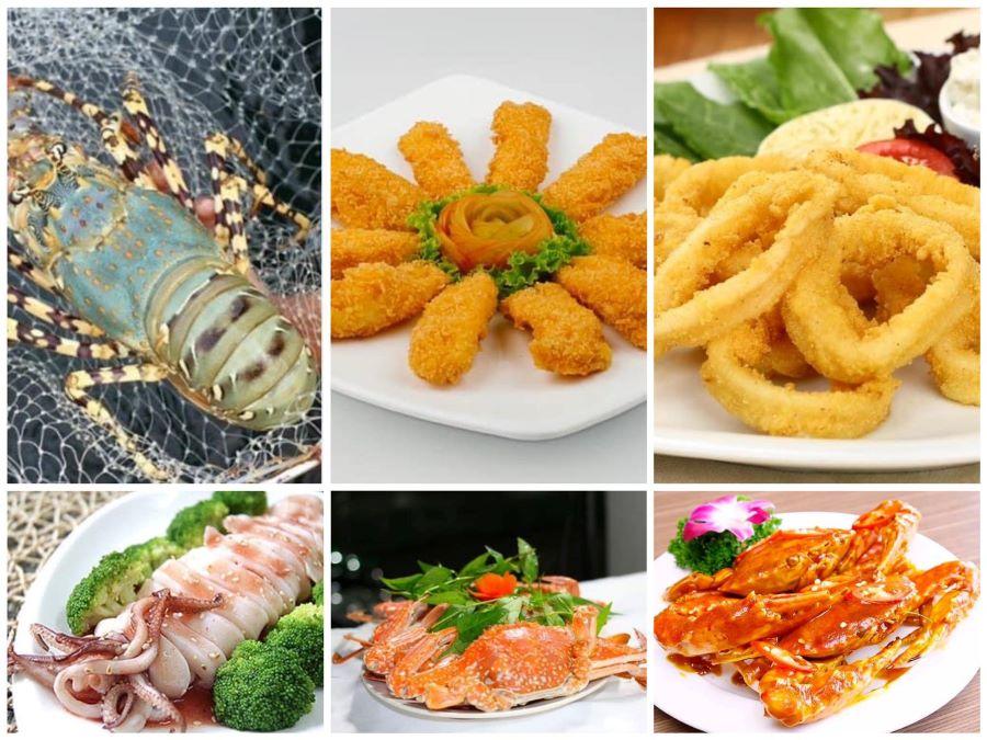 Thực đơn phong phú cùng nhiều món ăn hấp dẫn