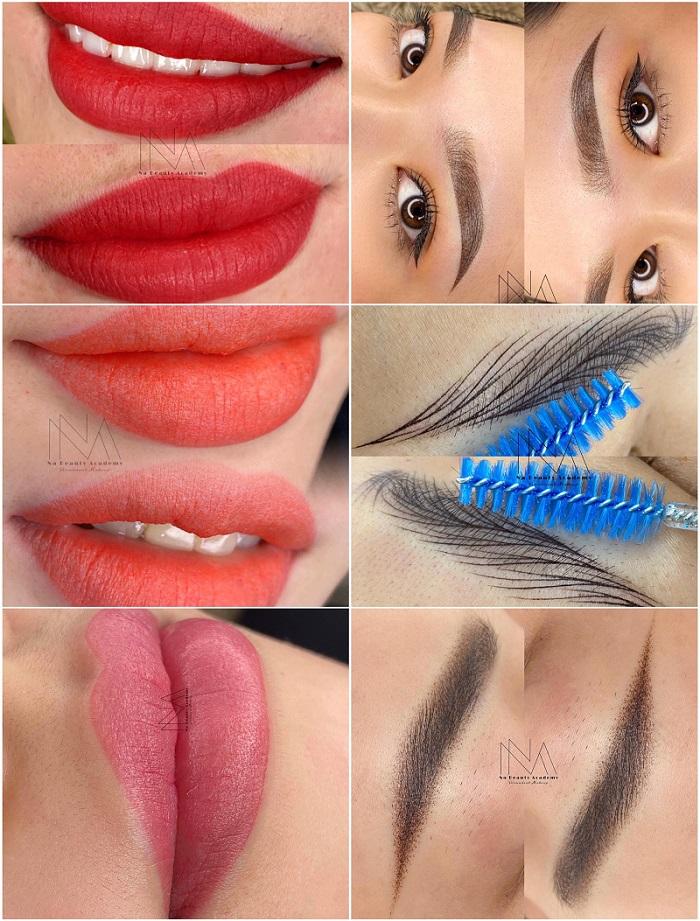 Các dịch vụ phun xăm thẩm mỹ tại Na Beauty Academy sẽ giúp bạn khai phá được sắc đẹp bản thân