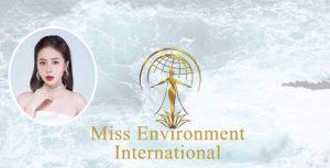 Người mẫu Ngô Diệu Hoa sẽ dự thi Miss Environment International 2021