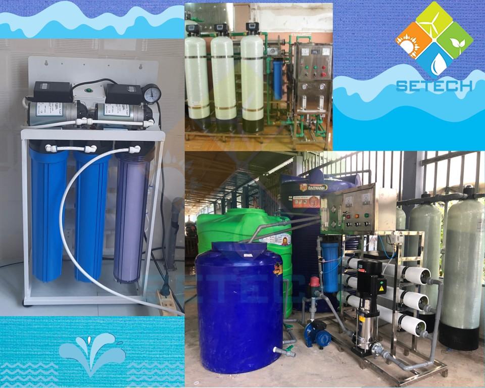 Thiết kế đa dạng của máy lọc nước VINAQUA