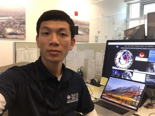 Lê Ngọc Trẫm là một trong số ít người Việt Nam đang làm việc tại NASA. (Ảnh: NVCC)