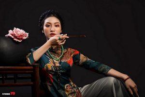 10x Keree Nguyễn - Mẫu ảnh trẻ tài năng với tà áo dài truyền thống