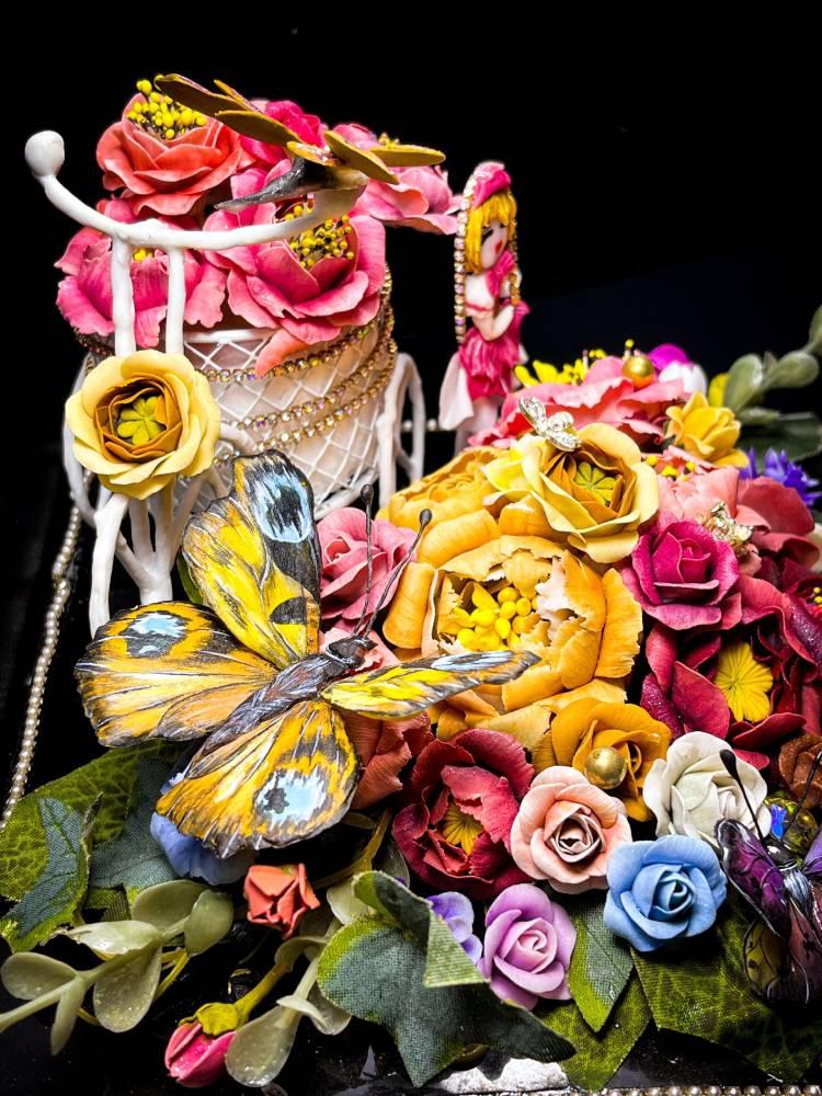 Giải nhất bậc Vip đắp hoa Fantasy tả thực