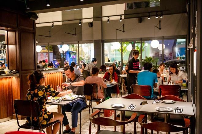 Nhà hàng sở hữu không gian sang trọng