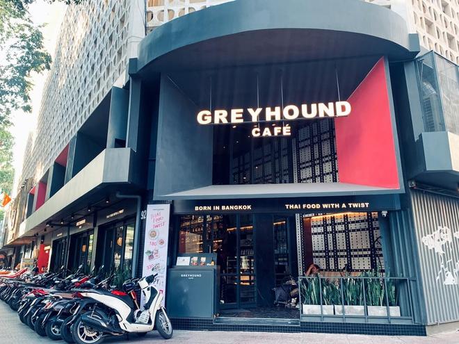 Greyhound Café tại số 92 Nam Kỳ Khởi Nghĩa.
