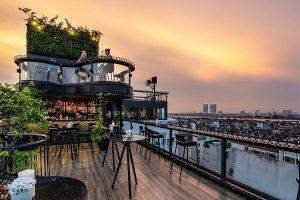 Khách sạn ở Hà Nội có tầng thượng đẹp nhất thế giới