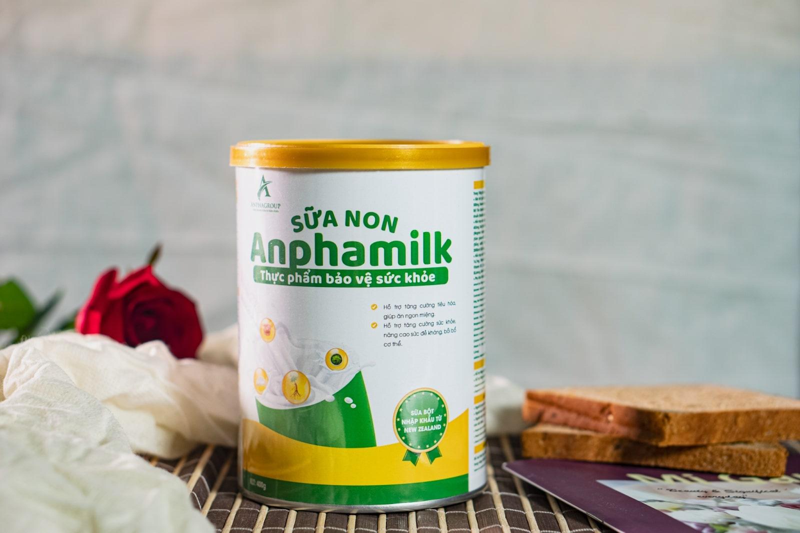 Sữa non thảo dược Anpha Milk và sức hút khủng khiếp nhờ tác dụng phòng ngừa dịch bệnh hiệu quả