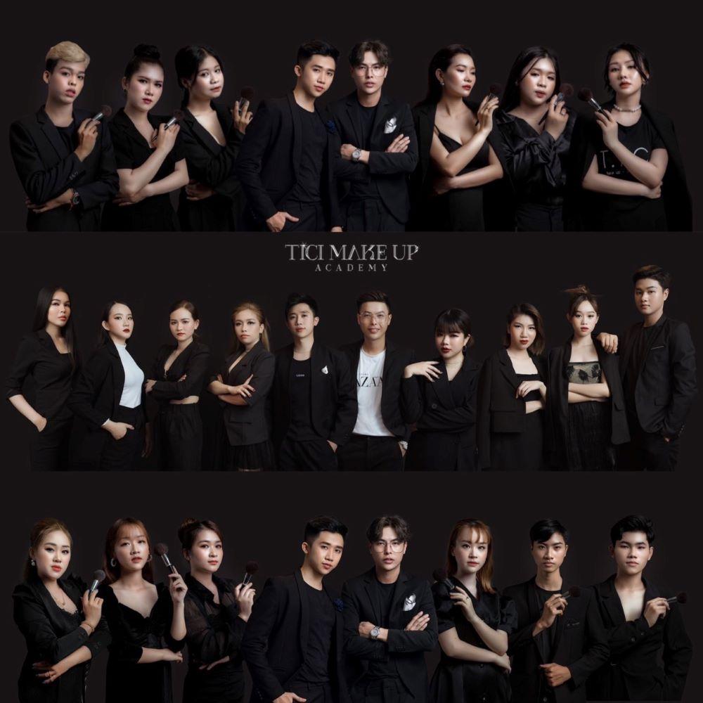 Lạc Chấn Makeup 9X và đội ngũ makeup artist chuyên nghiệp